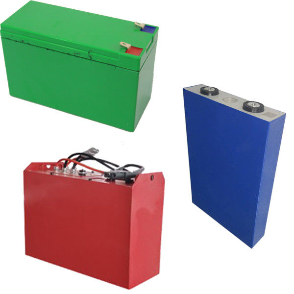 Red 3.2V 50Ah Lifepo4 Rechargeable Battery 5000 times For Commnications Basic Power Station