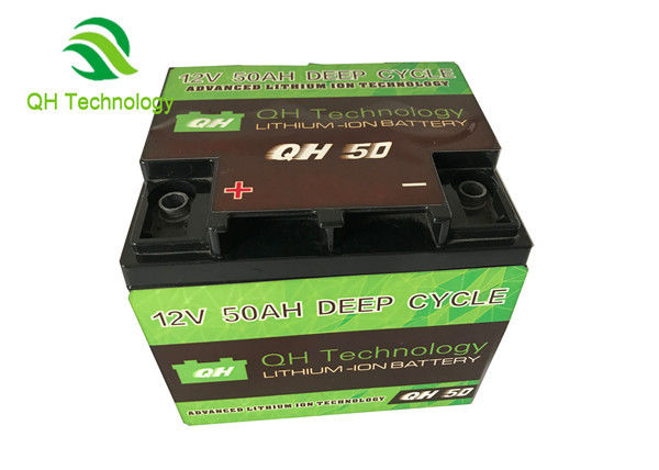 Aluminum  Lifepo4 Deep Cycle Battery , 3.2V 50Ah Rechargeable Lifepo4 Lithium Battery For 6000 Cycles