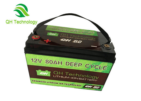 80Ah 3.2V Deep Cycle LiFePo4 Battery Pack ForSolor System Good Consistency Battery Pack