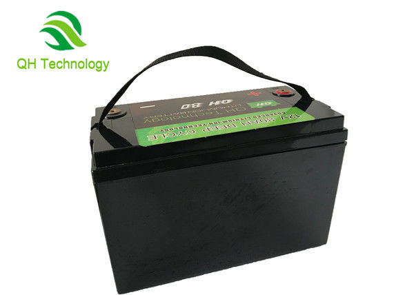 Rechargeable LiFePo4 Battery Pack , 80Ah 3.2V Lithium Iron Phosphate Battery