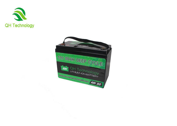 Lifepo4 Lithium Iron Phosphate Battery Pack 12V 80AH 6000 Times Cycle Life