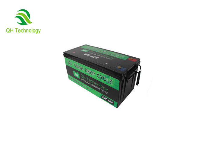 Safe Solar Lifepo4 Rechargeable Battery / Prismatic Cell Battery Packs